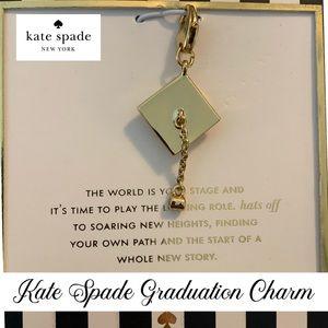 Kate Spade Graduation Charm Bracelet (Charm ONLY)